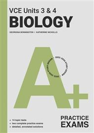 A+ Biology Practice Exam VCE Units 3 & 4 - 9780170458306