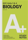 A+ Biology QCE Units 3 & 4 Study Notes