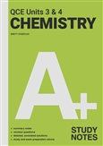 A+ Chemistry QCE Units 3 & 4 Study Notes