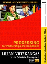 Processing for Partnerships and Companies Textbook/Workbook NCEA Level 3 - 9780170962803