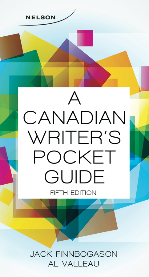 A Canadian Writer's Pocket Guide - 9780176531614