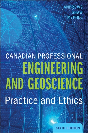 Canadian Professional Engineering and Geoscience - 9780176764678