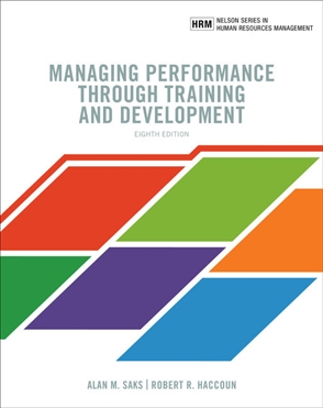 Managing Performance through Training and Development - 9780176798079