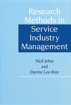 Research Methods in Service Industry Management - 9780304335121