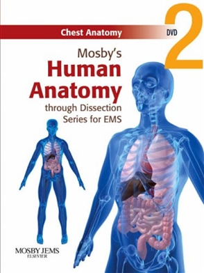 Mosby's Human Anatomy through Dissection Series for EMS DVD 2: Chest Anatomy - 9780323053273