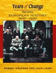 Years of Change: Europe 1890-1990 - 9780340775264