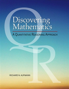 Discovering Mathematics: A Quantitative Reasoning Approach - 9780357022610