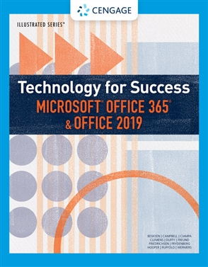Technology for Success and Illustrated Series™ Microsoft® Office 365® & Office 2019 - 9780357025680