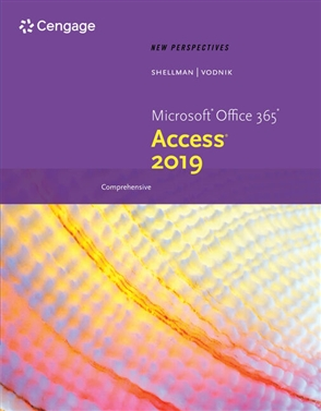 New Perspectives Microsoft® Office 365 & Access 2019 Comprehensive - 9780357025758