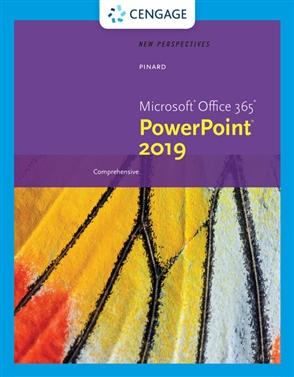 New Perspectives Microsoft® Office 365 & PowerPoint 2019 Comprehensive - 9780357026168