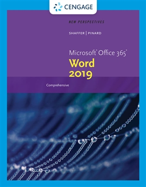 New Perspectives Microsoft® Office 365 & Word  2019 Comprehensive - 9780357026182