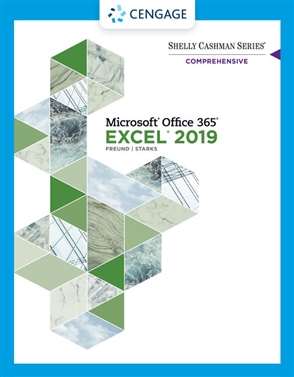 Shelly Cashman Series® Microsoft® Office 365® & Excel 2019 Comprehensive - 9780357026403