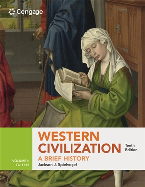 Western Civilization: A Brief History, Volume I: To 1715 - 9780357026731