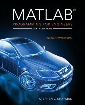 MATLAB Programming for Engineers - 9780357030394
