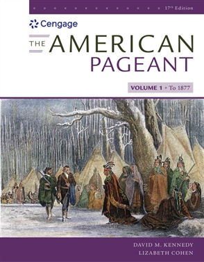 The American Pageant, Volume I - 9780357030578