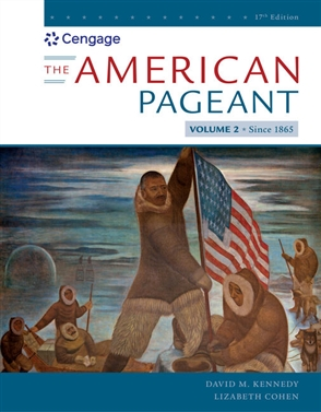 American Pageant, Volume II - 9780357030585