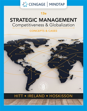 Strategic Management: Concepts and Cases: Competitiveness and Globalization - 9780357033838
