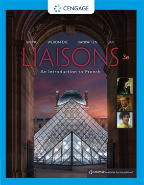 Liaisons, Student Edition: An Introduction to French - 9780357034873