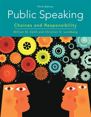 Public Speaking: Choices and Responsibility - 9780357039083