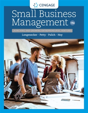 Small Business Management: Launching & Growing Entrepreneurial Ventures - 9780357039410
