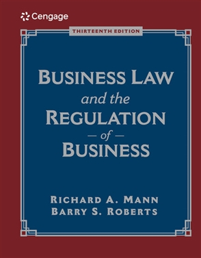 Business Law and the Regulation of Business - 9780357042625
