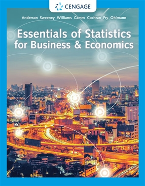 Essentials of Statistics for Business and Economics - 9780357045435
