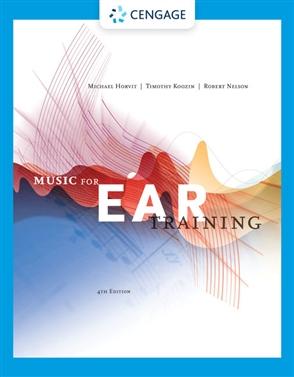 Music for Ear Training - 9780357106846