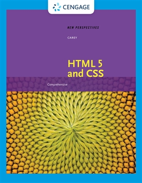 New Perspectives on HTML 5 and CSS: Comprehensive - 9780357107140