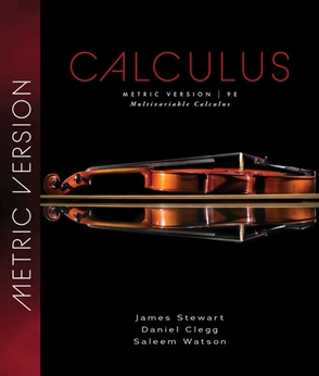 Multivariable Calculus, International Metric Edition - 9780357113509