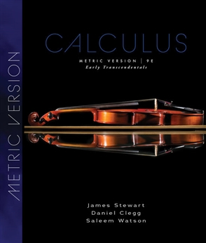 Calculus, Early Transcendentals, International Metric Edition - 9780357113516