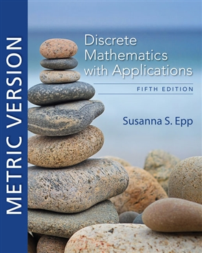 Discrete Mathematics with Applications, Metric Edition - 9780357114087