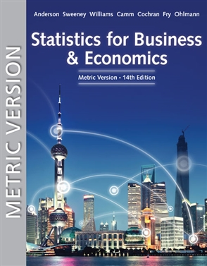 Statistics for Business & Economics, Metric Edition - 9780357114483