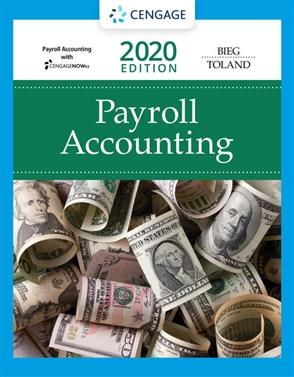 Payroll Accounting 2020 - 9780357117187