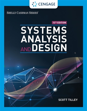 Systems Analysis and Design - 9780357117811