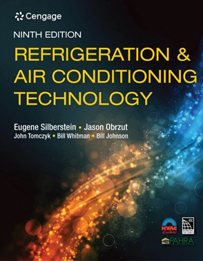 Refrigeration and Air Conditioning Technology - 9780357122273