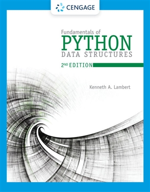 Fundamentals of Python: Data Structures - 9780357122754