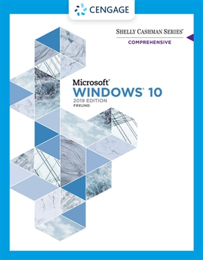 Shelly Cashman Series® Microsoft® / Windows® 10 Comprehensive 2019 - 9780357123867