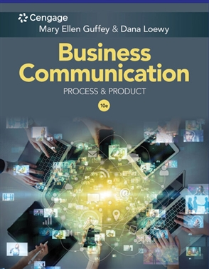 Business Communication: Process & Product - 9780357129234