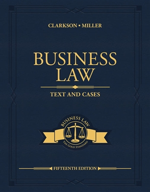 Business Law: Text and Cases - 9780357129630