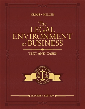 The Legal Environment of Business: Text and Cases - 9780357129760