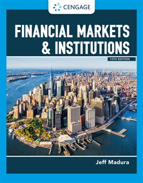 Financial Markets & Institutions - 9780357130797