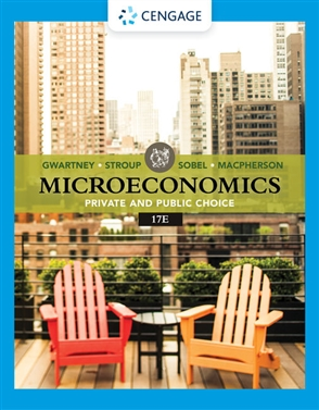 Microeconomics: Private & Public Choice - 9780357134016