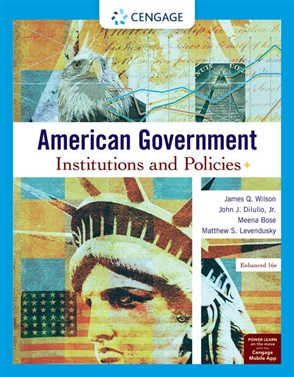 American Government: Institutions and Policies, Enhanced - 9780357136300