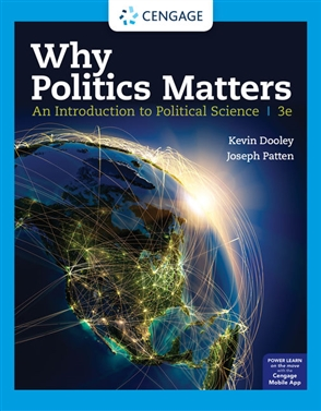 Why Politics Matters: An Introduction to Political Science - 9780357137468