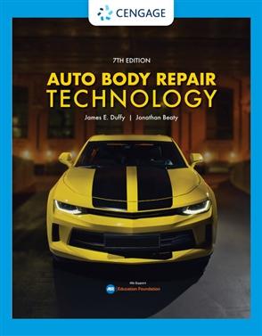 Auto Body Repair Technology - 9780357139790