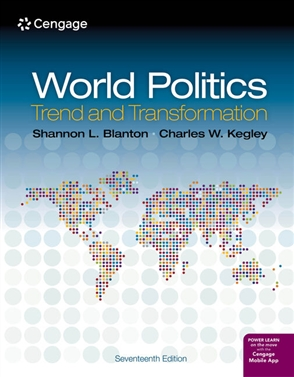 World Politics: Trend and Transformation - 9780357141809