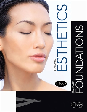 Milady Standard Foundations with Standard Esthetics: Fundamentals - 9780357263792