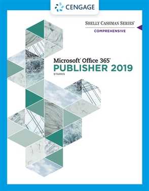 Shelly Cashman Series® Microsoft® Office 365® & Publisher 2019® Comprehensive - 9780357360026