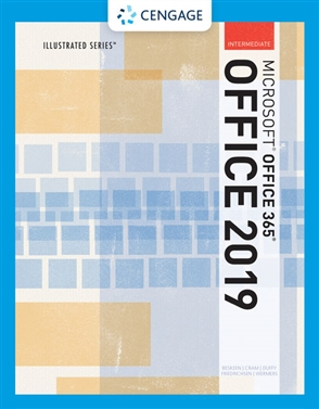 Illustrated Microsoft® Office 365 & Office 2019 Intermediate - 9780357360088