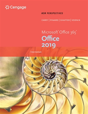 New Perspectives Microsoft® Office 365 & Office 2019 Intermediate - 9780357360491